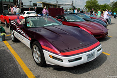 1995 Chevrolet Corvette C4 Convertible Indianapolis 500 Pace Car (Rivitography) Tags: white chevrolet car canon rebel automobile gm purple muscle connecticut fast convertible adobe american t3 westport corvette rare roadster cabriolet lightroom c4 generalmotors 2015 rivitography pace95