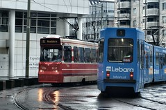 trams (Gerard Stolk (vers le Carme)) Tags: tram denhaag haag streetcar trams thehague rt9 htm rt1 lahaye lijn9