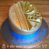 2016 Winter Youth Olympic Games Gold Medal Cake