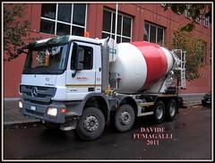 Mercedes-Benz Actros 4144 (DaveFuma) Tags: truck mercedes benz opera cement mixer lorry camion lkw autocarro betonmischer mezzo betoniera actros