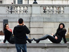 London Tourists (Waterford_Man) Tags: street people london photographer candid tourists