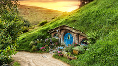 An unexpected journey (MRC Imagery) Tags: newzealand canon garden landscape outdoor fantasy lordoftherings 24mm hdr thehobbit hobbiton theshire canon24mmf14ii