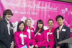 National Cherry Blossom Festival 2016 Press Conference