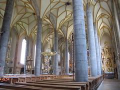 2012 08 25 Austria - Tirolo - Schwaz - Pfarrkirche Unserer Lieben Frau - Parrocchiale di Nostra Signora_1918 (Kapo Konga) Tags: austria chiesa cattedrale tirolo schwaz stadtpfarrkirche