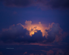 Covered fullmoon (Made Gunarta) Tags: moon rumah bukit jimbaran