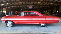 1964 Ford Galaxie 500 Fastback 390 Z-Code 4sp (Michel Curi) Tags: auto old winter red classic cars ford car airport automobile florida antique auction aviation w transport voiture transportation carros vehicle dukesofhazzard fl 500 lakeland carshow coches galaxie corral generallee winterfest swapmeet polk automóvil fastback sunnfun meguiars zcode lukeduke tomwopat vehículos collectorcars intage crusein visitflorida vehículosclásicos lakelandlinderairport carlisleevents winterautofest lovefl carlisleauctions floridaautofest
