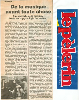 MICHEL SOGNY LE PELERIN 1981