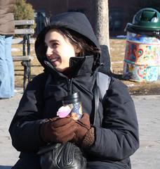 Chill air, warm hearts (Mark Nazimova) Tags: nyip sarahrachelnazimovabaum sarahnazimovabaum sarahnazimova newyorkinternprogram