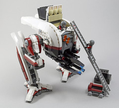 W5 Hailstorm Walker (2:STUDS) Tags: infantry robot ship lego space military helicopter walker futuristic speeder mech hovercraft drone defenses starfighter