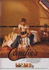 Candie's (moogirl2) Tags: vintage retro 80s 1981 candies seventeen vintageads vintagefashion vintageshoes 80sshoes 8sfashion