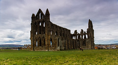St Hilda's Abbey 657AD, Whitby (Geordie_Snapper) Tags: landscape spring whitby northyorkshire whitbyabbey canon2470mm canon5d3