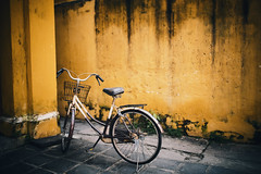 Streets of Hi An (explore) (desomnis) Tags: street urban bike vintage colorful asia streetphotography worldheritagesite vietnam hoian urbanexploration oldtown oldcity vintagestyle streetshot oldbike hian centralvietnam sigma35mm canon6d desomnis