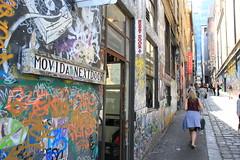 Movida Next Door (BattysGambit) Tags: street city urban art canon eos graffiti march no meeting australia melbourne victoria filter lane 7d styles cbd streetscape hosier 2016