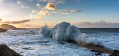 Jeanne  Dolan (thomasgachet56) Tags: blue sea mer storm france port bretagne vague jeanne quai tempete finistere gachet doelan thomasgachet