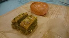 Mum bought baklava from Aroma Grill, Oakleigh,  green bean cake (avlxyz) Tags: food dessert sweet fb baklava