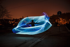 Summoning (Tria-media_Sven) Tags: lightpainting pixelstick