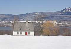 betterone (sarajdsign) Tags: mountain snow ski orleans quebec farm isle cananda slopes
