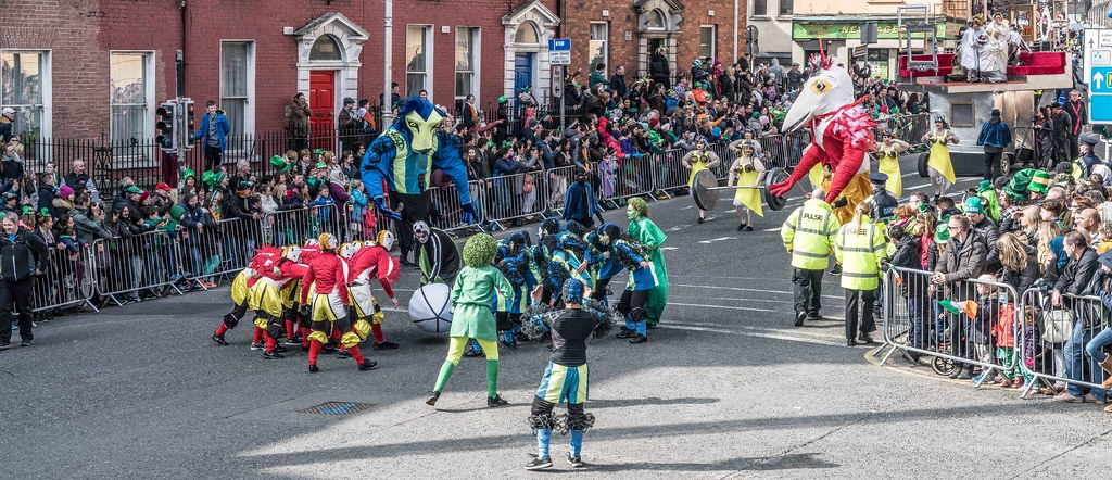 GAME ON BY CITY FUSION [DUBLIN 2016 PATRICK'S DAY PARADE]-112562