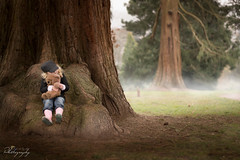 just hug me again... (Margarita K...) Tags: park trees portrait mist tree childhood fog southwales wales forest kid nikon child south ngc newport belle vue fairytales fogy beautifulwales mkphotography d5200 margaritakphotography