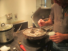 Stony Brook Fine Arts (allanwenchung) Tags: boston activities metalworking