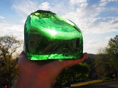 glass found in dirt of glass factory site (photography_isn't_terrorism) Tags: glass colors gems gem fragment glassfactory