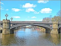 Skeldergate Bridge in York .. (** Janets Photos **) Tags: uk architecture buildings gothic bridges riverouse skeldergate cityofyork