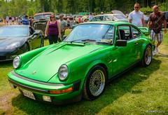 1978 Porsche 911SC (kenmojr) Tags: auto show green classic car vintage nikon antique newbrunswick german porsche moncton vehicle 1978 nikkor import carshow centennialpark sportscar 18105 aircooled 2015 911sc rearengine atlanticnationals kenmorris kenmo d7100