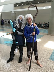 Frost and Frost (Heavenly_Kerby) Tags: frost cosplay mortalkombat jackfrost mkx riseoftheguardians wondercon2016