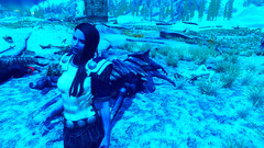 8 (Beth Amphetamines) Tags: blue wallpaper by race star mod skin alien grand wars admiral invasion chiss thrawn skyrim evittalex