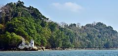 The Little Lighthouse (Sanjiban2011) Tags: travel trees lighthouse nature island seaside nikon waterfront outdoor d750 fullframe fx tamron touristattraction andaman seabeach tamron2470 elephantbeach