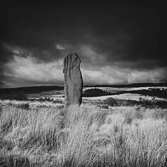 Machrie Moor Stone (michael prince) Tags: 120 film mediumformat scotland hasselblad hp5 ilford arran isleofarran machriemoor