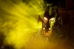 Maleficent in Dragon Form (Don Sullivan) Tags: world night lowlight dragon disney fantasmic waltdisneyworld walt d500 hollywoodstudios disneyshollywoodstudios meleficent