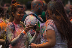 HoliHaiNYC-86 (M B Ahmed) Tags: new nyc newyorkcity colors festival portraits manhattan streetphotography depthoffield holi streetportraits festivalofcolors nycbhangra holihainyc
