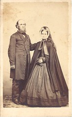 Distinguished Looking Couple (ilgunmkr - Thanks for 4,000,000+ Views) Tags: couple 19thcentury victorian cdv cartedevisite 1860s civilwarera victorianlady victoriangentleman cdvalbum wrightcdvalbum