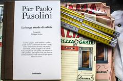So quindi faccio (enricoparavani) Tags: book metro libro pasolini contrasto falegnameria workingclassheroes