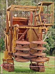 Old Yerba Picking Machine. (john.richards1) Tags: old argentina nikon antique machine sigma yerba misiones d80 misionesprovince