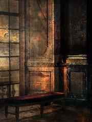Galerie (jeanfenechpictures) Tags: sunset sun castle history window wall bench soleil gallery interieur galerie histoire inside marble chateau mur banc fenetre marbre soleilcouchant