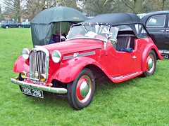 419 Singer SM Roadster 4AB (Hood Up) (1952) (robertknight16) Tags: sm 1950s singer british weston rootes hsk396