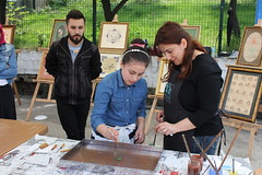 IMG_9221 (Objektife Düşenler) Tags: el mehmet bayrak tirebolu kutlu yüksek haftası meslek sergisi okulu sanatları dağum