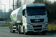 MAN SK11BXN ABBEY (WESTROWMAN) Tags: abbey tanker mantruck manlorry roughamhilllorryparkburystedmunds