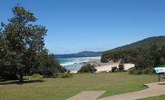 Walk with a view to Pretty Beach (spelio) Tags: camping camp coast australia tm nsw 2016 murramarang
