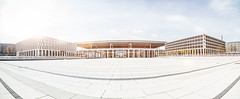 BER-Pano (MichaelBmxking) Tags: light sky panorama house 3 sunshine clouds photoshop canon lens airport day open place kodak mark f14 platz pano iii style sunny ps adobe silence lensflare area 5d brandt lonely 24mm flughafen filters mk willy available lr lightroom ber refurbished schnefeld willybrandtplatz gerst vsco 5dmark 5dmk 5dmkiii 5dmk3 5dmarkiii krolop 5dmark3