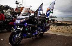 Goldwing (mlomax1) Tags: lighting wales canon honda seaside flag cymru victorian motorbike cycle llandudno extravaganza goldwing ledlights eos600d