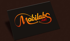 mobilabs (Reand Aghara) Tags: orange black yellow logo typography text internet link signal