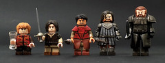 GoT Size Comparison (billbobful) Tags: mountain game ice fire lego song hound arya got ser sandor stark gregor thrones martell tyrion lannister oberyn clegane
