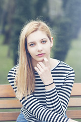 ... (MargaritaP.) Tags: portrait people woman nature girl blondes naturallight blonde portaits