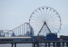 Top of the Shop on The Big One (deltrems) Tags: max beach wheel coast pier town big ride fairground centre central lancashire pepsi bigone bigwheel blackpool attraction centralpier fylde pleasurebeach pepsimax pleaure