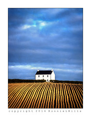 The White House (RonnieLMills) Tags: road county blue ireland sky white house field nikon down ie northern tamron 90mm textured ploughed newtownards comber d3300 magicunicornverybest ballyrainey