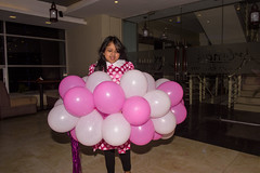 Umfff Lalala  - The Zayn (Zahid - Thanks for the views ,Favs and comments) Tags: party portrait glass colors girl balloons fun happy dance child joy happiness indoor moment birthdaygirl vibrance zayn