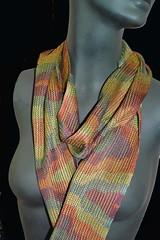 double weave1 (Zip Eye) Tags: scarf handwoven doubleweave